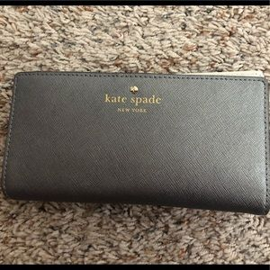 Kate Spade leather check book